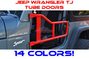 Steinjager Offroad Tube Doors For Jeep Wrangler Tj Lj Rubicon 97 06 14colors