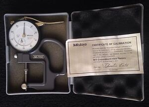 Mitutoyo Dial Thickness Gauge Caliper Gage 7312 2412 Indicator Metrology