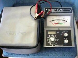 Midtronics Midtron 5000 Battery Conductance Tester Cased With Manuals Mt5000 Cc