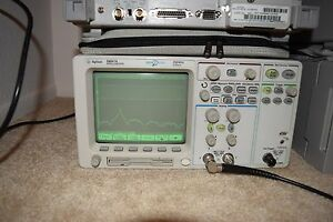 Agilent 54641a Digital Oscilloscope 350mhz 2gs s Megazoom 8m N2757a Manual