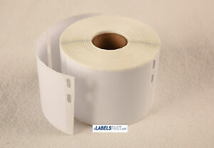 72 Rolls Of 400 Media badge Labels For Dymo Labelwriters 30324