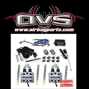 Honda Civic Avs Shaved Door Kit Universal W 8 Channel Remote System