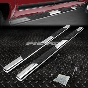 For 09 15 Dodge Ram 4dr Crew Cab 5 Chrome Oval Side Step Nerf Bar Running Board