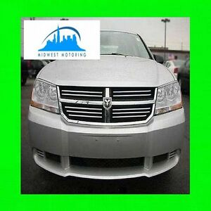 2008 2013 Dodge Avenger Chrome Trim For Grill Grille W 5yr Warranty