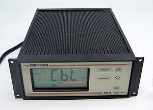Leybold Inficon Pg3 850 400 g1 Vacuum Guage Controller 850400g1