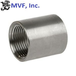 Coupling 3 Npt 150 304 Stainless Steel Pipe Fitting 730wh