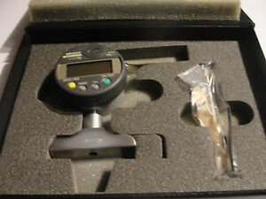 Mitutoyo 547 217 Digital Depth Gage 0 8 In 2 5 Base Brand New