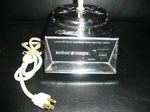 Used Robot Coupe Rc2100 Food Processor Base