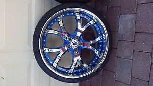 Asanti 22 Performance Wheels Tires 4