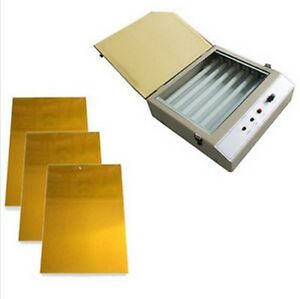 Hot Foil Stamping Uv Exposure Unit Photopolymer Plate Die New 2014 New Version