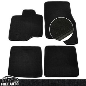 Fit For 03 10 Ford Expedition Black Nylon Front Rear Floor Mats Carpet