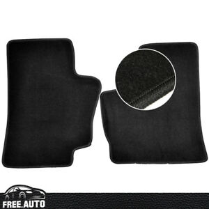 For 94 01 Dodge Ram Black Nylon Oe Factory Fitment Floor Mats Carpet