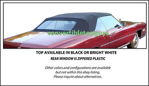 Cadillac Eldorado Grandville Convertible Top Do It Yourself Kit 1971 1976