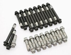 Elgin Small Block Chevy Hex Head Bolts 327 350 400 23 Degree Cylinder Heads Sbc