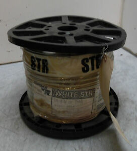 New Republic Wire 2500 Spool Of White Stranded 14 Mtw Thhn Thwn 2