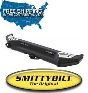 Smittybilt Xrc Gen2 Rear Bumper W Led Lights For 07 18 Jeep Wrangler Jk 76858
