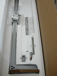 Mitutoyo 520 150 600mm 02mm Graduation Vernier Height Gage