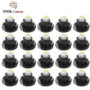 20x Pure White T4 T4 2 Neo Wedge Led Bulb Cluster Instrument Dashboard Light