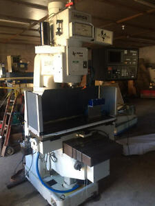 1999 Hurco Hawk 5 Knee Mill Ref 7783357