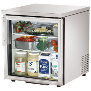 True Under Counter Refrigerator Tuc 27g