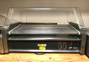 Star 50e Hot Dog Roller W Sneeze Guard Stainless 11 Rollers