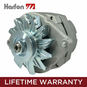 Alternator Fits Chevy One 1 Wire 105 Amp Delco 10si Self Exciting