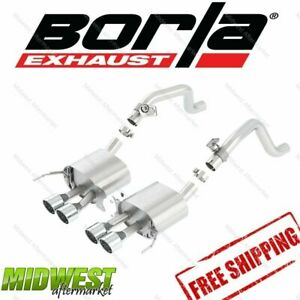 11863 Borla Atak Rear Exhaust Fits 2014 2016 Chevy Corvette C7 6 2l V8 W o Npp