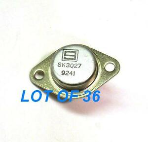 Sk3027 Solid State Npn Si Transistor 115w 15a New Lot Of 36