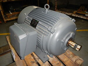 100 Hp Electric Motor 3600 Rpm 404ts 405ts Frame Tefc 460 V Lincoln New