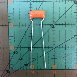 Cornell Dubilier Orange Drop Capacitor 1000pf 200v 10 225p10292xd3 001uf X200