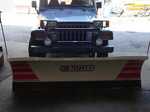 Sale New Blizzard Plows 680lt 720lt Suv Snowplow Jeep Ford Chevy