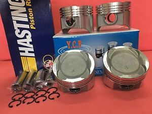 Ycp 76mm 040 Vitara Pistons Low Comp Hatings Rings Honda Crx Civic D16 Turbo