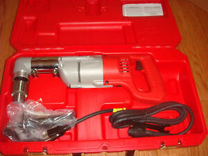 Milwaukee 1 2 In Heavy Right angle Drill Kit With Case 3107 6