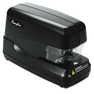 Swingline High capacity Flat Clinch Electric Stapler With Jam Release 70 sheet