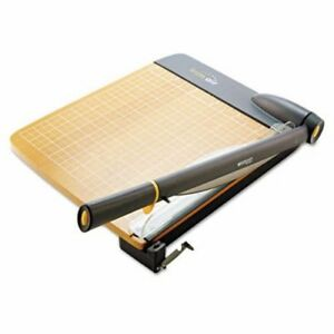 Westcott Trimair Titanium Guillotine Paper Trimmer Wood Base 12 acm15106
