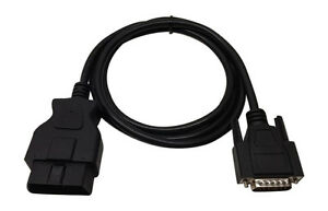Cen Tech Scanner 98614 99722 Obd2 Obdii Replacement Cable 5 Ft