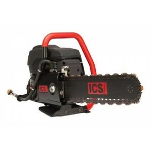 Ics 695f4 16 Gas Powered Diamond Chain Saw Package With Guidebar
