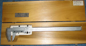 Scherr tumico 12 Inch Vernier Caliper 0 To 300 Mm With Case