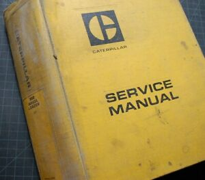 Cat Caterpillar 980 Wheel Loader Repair Shop Service Manual Maintenance Book Oem