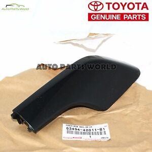 Genuine Toyota 01 03 Rav4 Rear Left Driver Roof Rack Leg Cover 63494 42011 B1