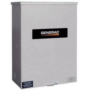 Generac Rtsw200g3 120 208 volt 200 amp 3 phase Automatic Transfer Switch