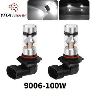 Yitamotor 9006 Hb4 High Power 2323 100w Led Fog Light Bulbs Driving Drl Lights
