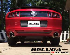 Ford Mustang 2011 2012 2013 2014 V6 3 7l Performance Axleback Exhaust System