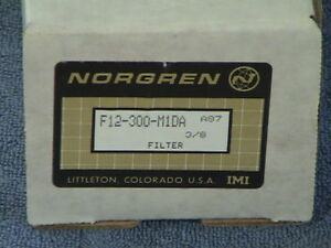 Norgren F12 300 m1da Filter Water Seperator New In Box