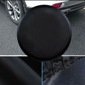 15 Black Spare Wheel Tire Covers Fit 235 75r15 235 70r16 235 65r17