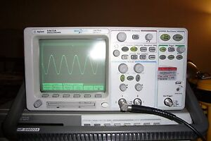 Agilent 54622a Digital Oscilloscope 100mhz 200ms s Megazoom 2mb channel