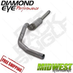 Diamond Eye Ss 4 Cat Back Exhaust Fits 1994 97 Ford F250 F350 7 3l Powerstroke