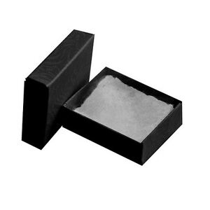 Wholesale 100 Small Black Swirl Cotton Filled Jewelry Gift Boxes 17 8