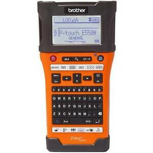 Brother P touch Edge Pt e550w Electronic Label Maker E998