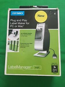 New Dymo 1818945 Dymo Plug Play Label Maker Manager Pnp Printer Free Shipping